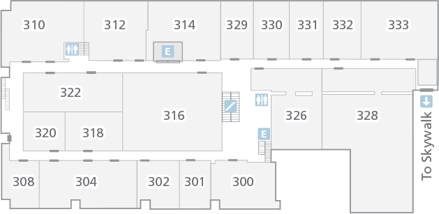 Floor Plan for Level 3